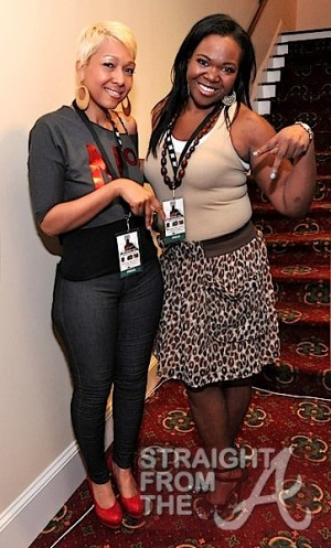 Joi Pearson and ATLien (Michelle Brown)