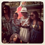 SPOTTED: Newbie Marlo Hampton w/Atlanta Housewives + Her Criminal Past Revealed… [PHOTOS]