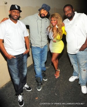 Alex Gidwon, Lil Kim, Kenny Burns