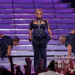 Baby Bump or Beer Belly? TLC Hits American Idol Finale Stage… [PHOTOS + VIDEO]