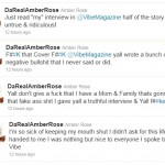 Twitter Beef: Amber Rose Says VIBE Lied in Cover Story…