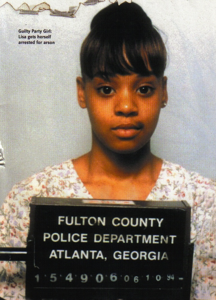 lisa left eye lopes mugshot