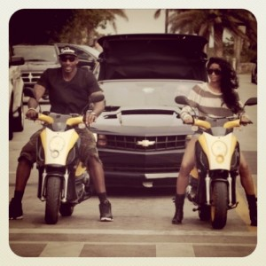 Amar'e Ciara in Miami