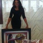 "Jennifer Hudson Shares Photos of ""I Remember Me"" Gold Plaque…"