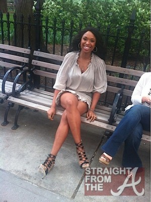 Jennifer Hudson Park Bench