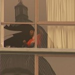 W Hotel Fall Window