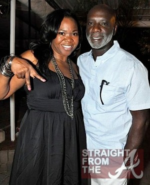 ATLien (Michelle Brown) and Peter Thomas