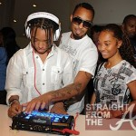 Dallas Austin, Chilli & Tron Spend Family Time at Beat Thang Launch Party [PHOTOS]