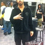 Drake-Versace-Velour-Jacket-Pants-Black-Sweatsuit-Timberland-Boots-1