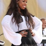 Jennifer Hudson & Baby David Hit Good Morning America's Summer Concert Series… [PHOTOS + VIDEO]