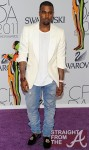 Kanye-West-2011-CFDA-Fashion-shawl-collar-cream-tuxedo-jacket-Balmain-jeans-Stubbs-Wootton-slippers-9