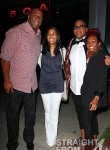 Magic Johnson Cookie Johnson and Kids at BOA Steakhouse June 4, 2011