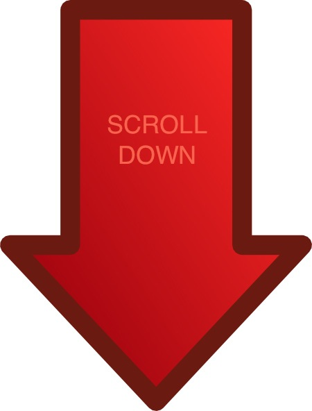 Red Scroll Down Arrow