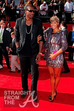 Amare Stoudemire and Alexis