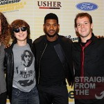 Usher and Zach Allen, Dylan Brenner, Tim Holmes and Wyatt