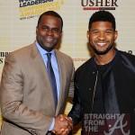 Kasim Reed & Usher Raymond