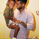 "Spotted: Usher Raymond & His ""Mini Me"" at New Look Foundation Conference… [PHOTOS]"