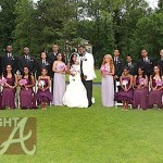 Toya Memphitz Wedding Party