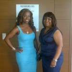 Kandi and Miss Joyce