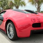 Who Knew They Bootlegged Luxury Cars? Man Builds Bugatti From '02 Mercury Cougar… [PHOTOS]