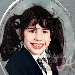 Amy Winehouse as a child