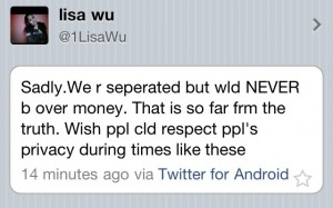 Lisa Wu Tweet