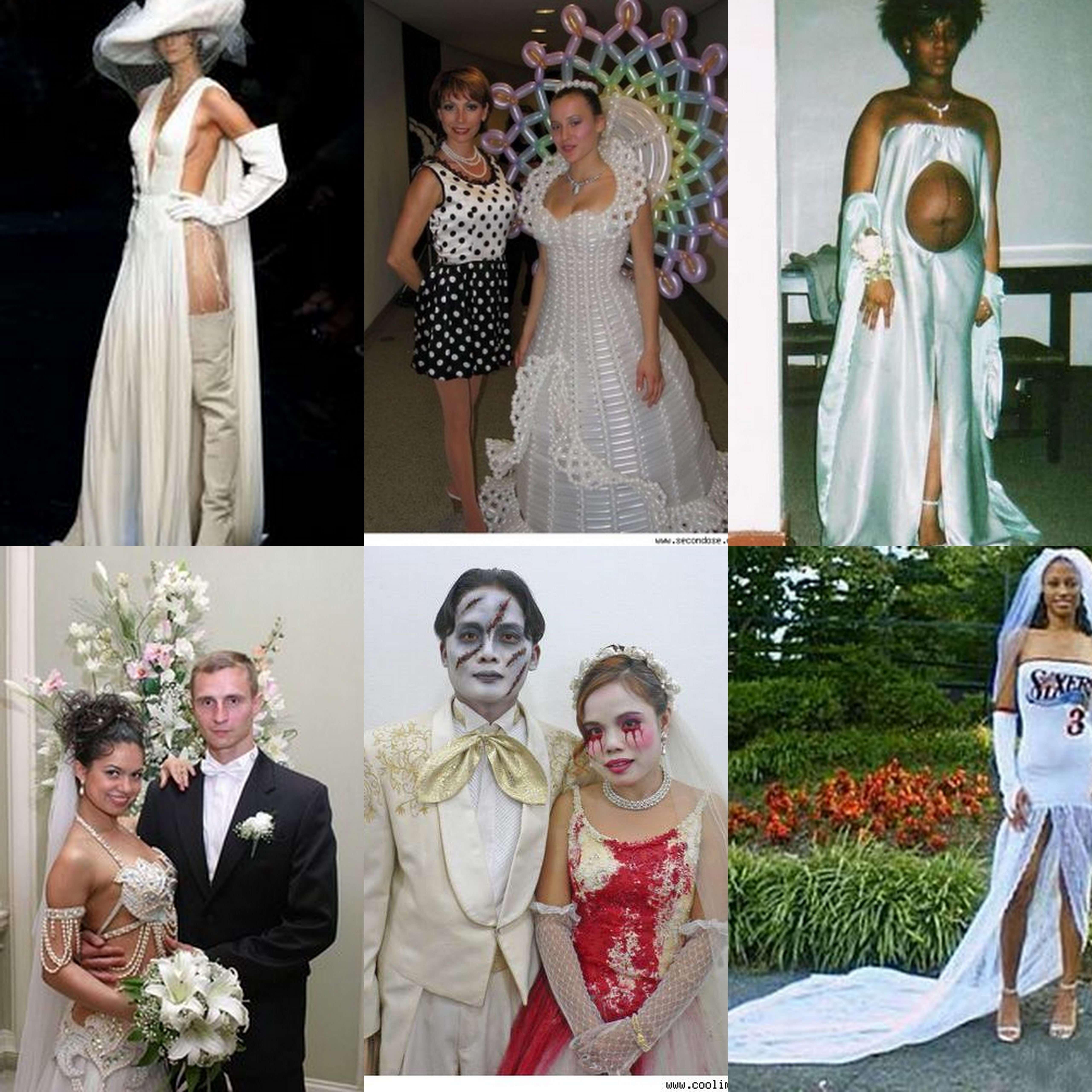 Image Result For Ghetto Wedding Dresses