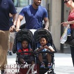 "Daddy Day Care: Usher Raymond & Sons ""Stroll"" Through NYC… [PHOTOS]"