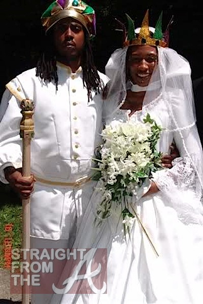 King and queen of zamunda for Coming to america wedding dress