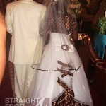 LV Wedding Dress