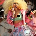 Nicki Minaj Wardrobe Malfunction2