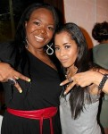 ATLien (Michelle Brown) and Lisa Wu Hartwell