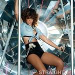Rihanna Rocks Booty Shorts Just Because… [PHOTOS]