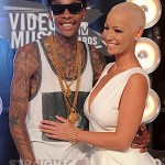 Tongue Tied: Wiz Khalifa & Amber Rose at 2011 MTV VMAs… [PHOTOS]