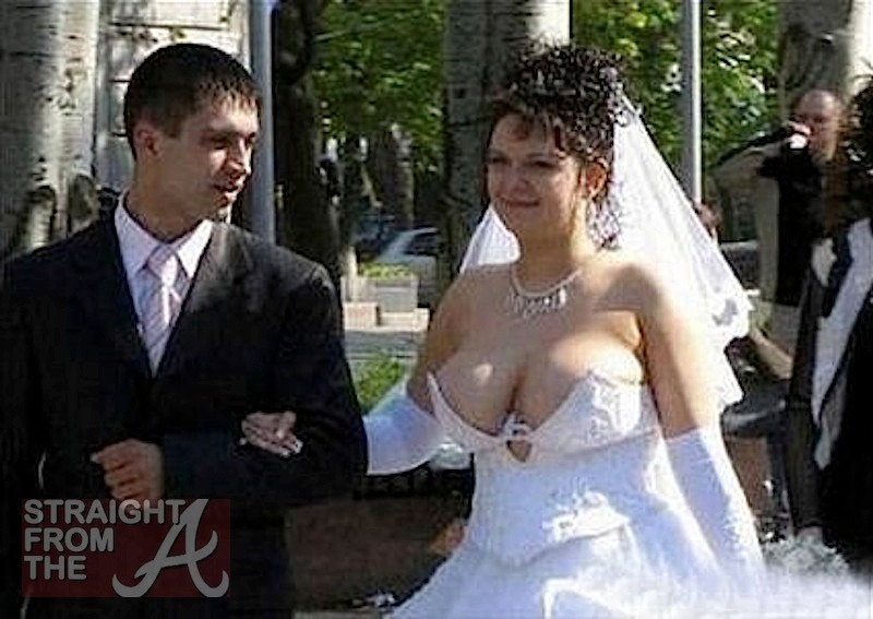 malfunctions Worst wedding dress