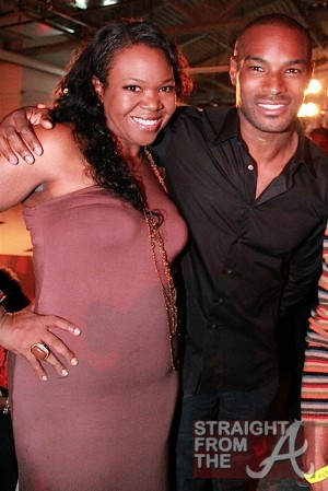 ATLien (Michelle Brown) and Tyson Beckford