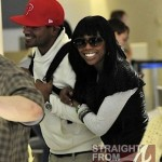 Spotted: Brandy Hits Atlanta Airport Clinging to Her New Boo… [PHOTOS]