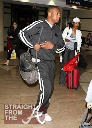 Chris Tucker at LAX June 11, 2011