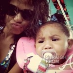 New Pics of Christina Milian & Baby Violet… [PHOTOS]