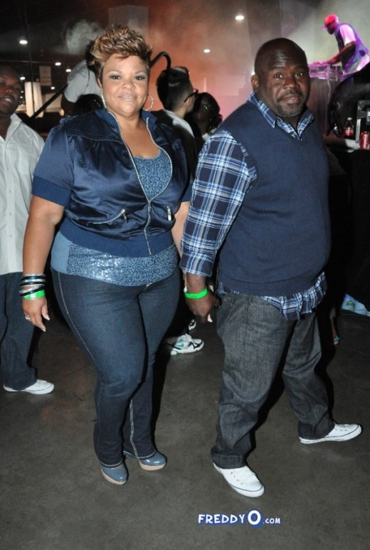 Acting couple David an Tamela Mann were spotted all boo'd up during