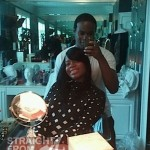Pregnant Fantasia Trades Bed Rest For a New Doo… [PHOTOS]