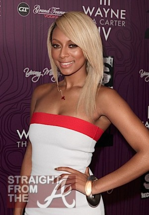 Keri Hilson on August 28, 2011 in Los Angeles, California.