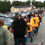Killer Mike Troy Davis Protest