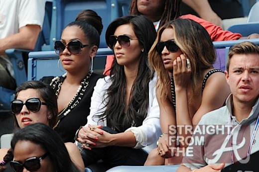 Ciara was spotted out and about with Lala Vasquez (who married Carmelo ...