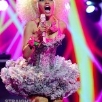 Dear Nicki Minaj… Is That CHICKEN You're  Wearing? [PHOTOS + VIDEO]