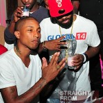 Pharrell Williams Hosts Qream Liqueur Launch Party in Atlanta…  [PHOTOS + VIDEO]