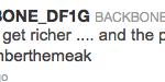 Backbone tweet