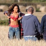 Rihanna's Topless Video Shoot Angers Irish Farmer… [PHOTOS + VIDEO]
