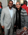 Atlanta Mayor Kasim Reed and T.I