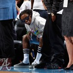 Courtside Flix: Lil Wayne Attends Minnesota Lynx vs. Atlanta Dream Game…